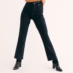 NWT Agolde pinch waist jean in black